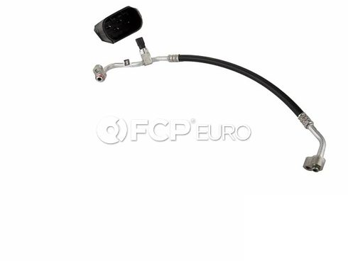 Mercedes A/C Refrigerant Discharge Hose (ML500 ML350) - Genuine Mercedes 1635003372