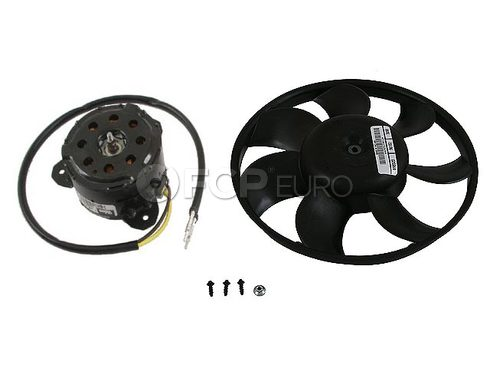 Mercedes A/C Condenser Fan Motor Left (ML350 ML320 ML430) - Genuine Mercedes 1635400188