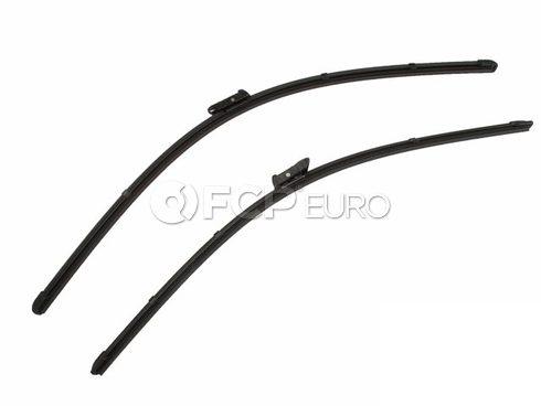 Mercedes Windshield Wiper Blade Set - Genuine Mercedes 166820104528