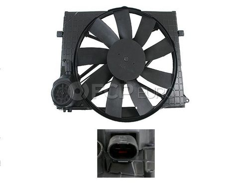 Mercedes Auxiliary Fan Assembly - Genuine Mercedes 2205000093