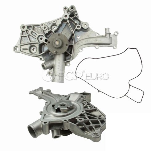 Mercedes Engine Water Pump (C32 AMG SLK32 AMG) - Genuine Mercedes 112200130188