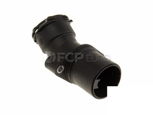 Mercedes Engine Coolant Thermostat Housing (C230) - Genuine Mercedes 2712001256