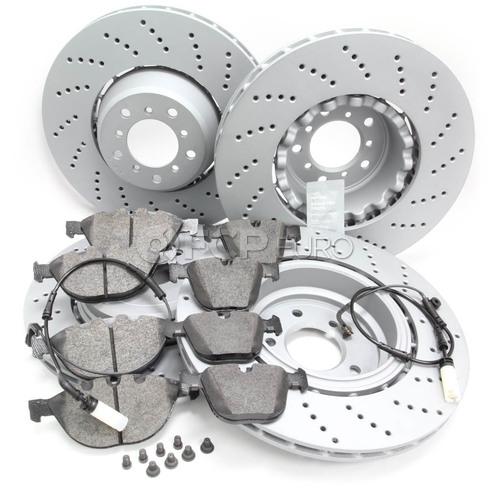 BMW Brake Kit - Zimmermann/Textar 34112282805KTFR2