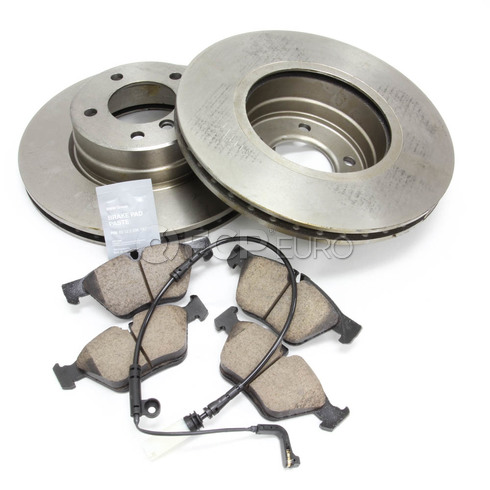BMW Brake Kit - Zimmermann/Akebono 34116764021KTF1