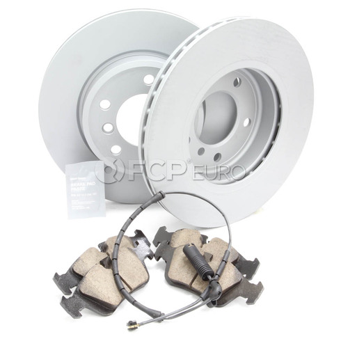 BMW Brake Kit Front (E46) - Zimmermann/Akenono 34116855152KTF2