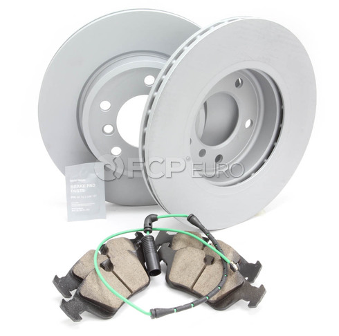 BMW Brake Kit Front (E46) - Zimmermann/Akebono 34116855152KTF6