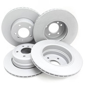 BMW Brake Kit - Zimmermann/Akebono 34116864906KTFR1