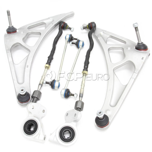 BMW 8-Piece Control Arm Kit Front (E46 M3) - E46M3CAKITFULL