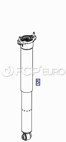 Mercedes Shock Absorber Rear (C300 C350 C250) - Genuine Mercedes 2043260500
