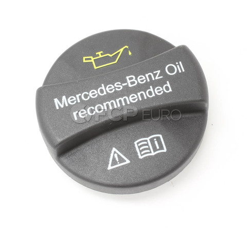 Mercedes Engine Oil Filler Cap - Genuine Mercedes 0000100301
