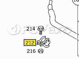 Mercedes Stabilizer Bar Bracket (ML320) - Genuine Mercedes 1633230240