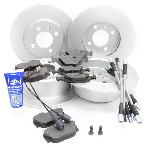 BMW Comprehensive Brake Kit With Stainless Lines (E30 325iX) - Meyle/ATE E30IXBKIT