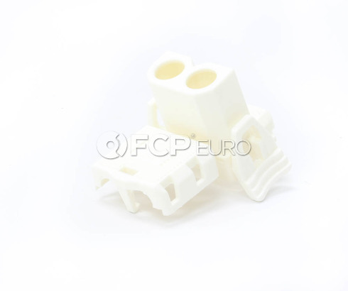 BMW Plug Housing (White) - Genuine BMW 61131378417
