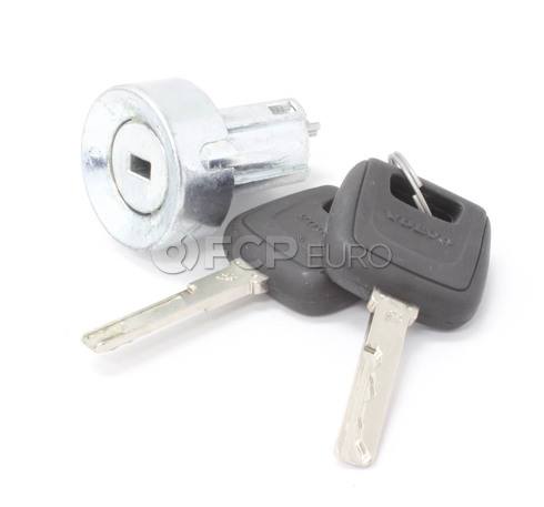 Volvo Ignition Lock Cylinder (S40 V40) - Genuine Volvo 30803270