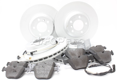 BMW Brake Kit Front and Rear (E65 E66) - Genuine BMW 34116750267KTFR4