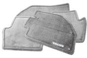 Volvo Carpeted Floor Mat Set Black (850) - Genuine Volvo 9166888