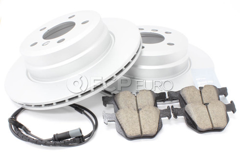 BMW Brake Kit Rear (E70 E71) - Meyle/Akebono 34216793247KTR
