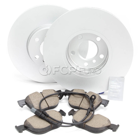 BMW Brake Kit Front (E70) - Meyle/Akebono 34116793245KTF