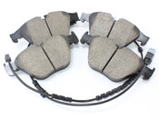 BMW Brake Pad Set - Akebono EUR1505