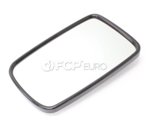 BMW Mirror Glass Heated Plane Left (745i 750i 760i) - Genuine BMW 51167028437