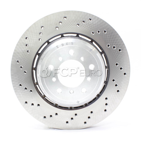 BMW Slotted Brake Disc - Stop Tech 128.34106