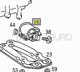 Mercedes Manual Transmission Mount (SLK) - Genuine Mercedes 2102400318