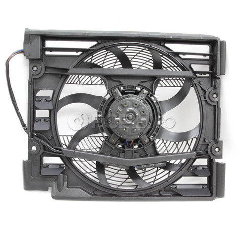BMW Auxiliary Fan Assembly - Nissens 64546988913