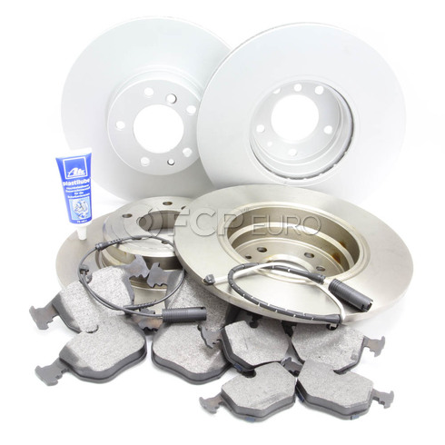 BMW Brake Kit (740i 740iL) - Bosch QuietCast 740BKIT1