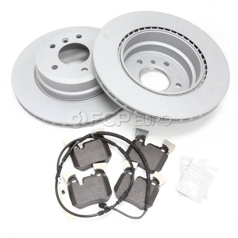 BMW Brake Kit - Zimmermann/Textar 34216855003KTR4