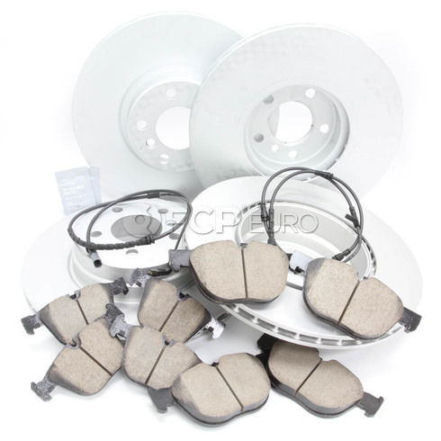 BMW Brake Kit Front and Rear (E71) - Brembo/Akebono 34116793244KTFR5