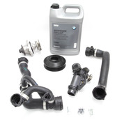 BMW Water Pump and Thermostat Replacement Kit (E60) - 11517509985KT3