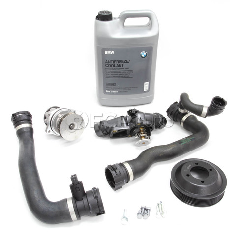 BMW Water Pump and Thermostat Replacement Kit (E60) - 11517509985KT2