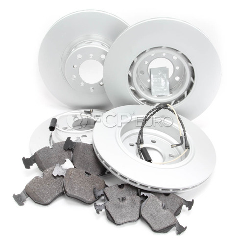 BMW Brake Kit Front and Rear (E39 M5) - Meyle 34112229527KTFR1