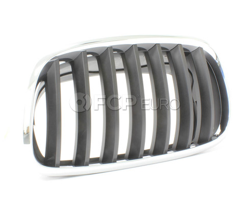 BMW Kidney Grille Left (X5 X6) - Genuine BMW 51137157687