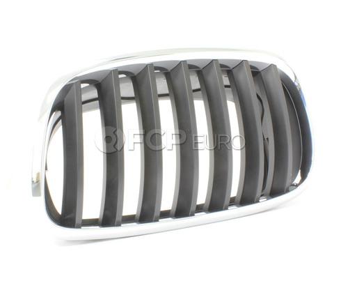 BMW Kidney Grille Left (X5 X6) - Genuine BMW 51137157687
