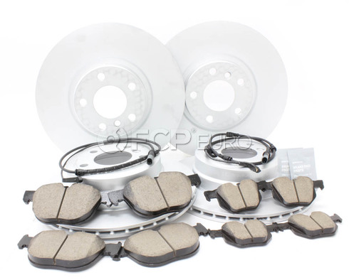 BMW Brake Kit Front and Rear (E71) - Brembo/Akebono 34116793244KTFR7