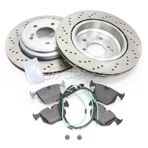 BMW Brake Kit Rear (E46 M3) - M3ZCPREARBRAKEKIT1