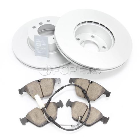 BMW Brake Kit - Meyle/Akebono 34116855006KTF1