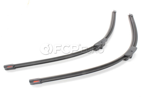 Mercedes Windshield Wiper Blade Set Front - Genuine Mercedes 2118202945