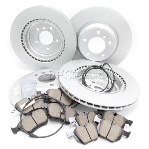BMW Brake Kit - Meyle/Akebono 34216855004KTFR2