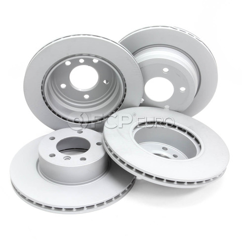 BMW Brake Kit - Zimmermann/Akebono 34216864901KTFR1