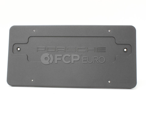 Porsche License Plate Base (911 Boxster) - Genuine Porsche 99670110700