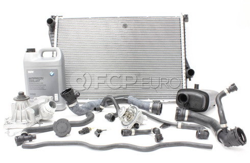 BMW Comprehensive Cooling System Service Kit - E38COOLINGKIT