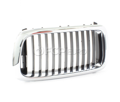 BMW Kidney Grille Left (Chrome) - Genuine BMW 51138172279