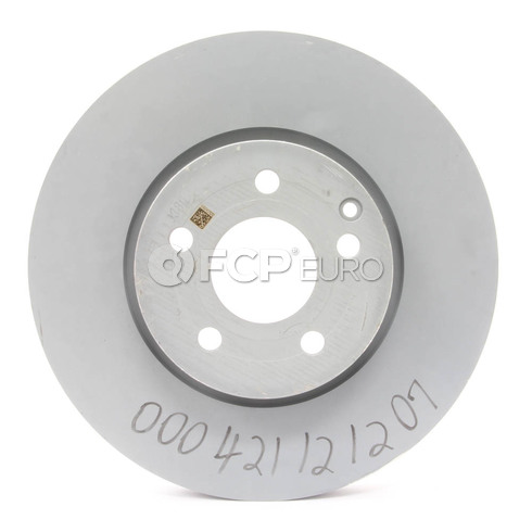 Mercedes-Benz Disc Brake Rotor Front (C300 C350) - Genuine Mercedes 000421121207