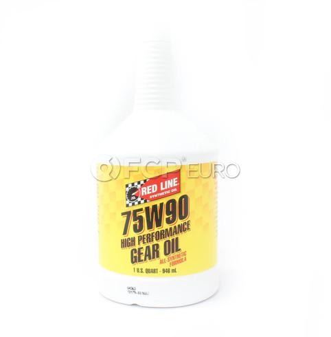 Red Line Gear Oil 75W90 GL-5 (1 Quart) - 57904