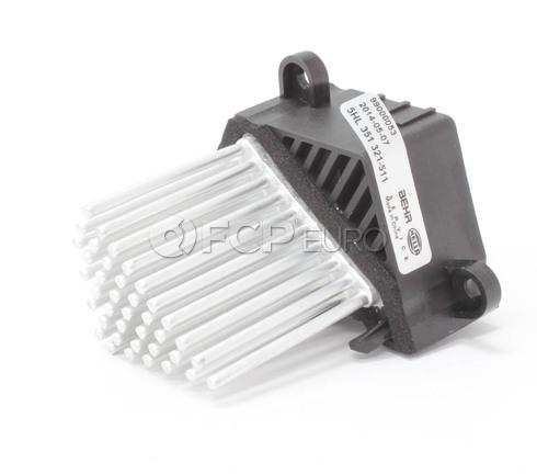 BMW Blower Motor Resistor - Behr 64116923204