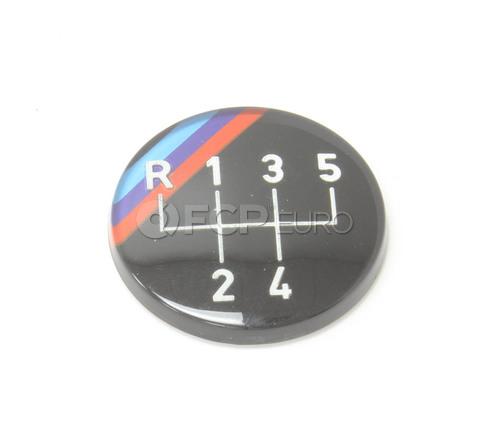 BMW Emblem Adhered (M Technic) - Genuine BMW 25111220954