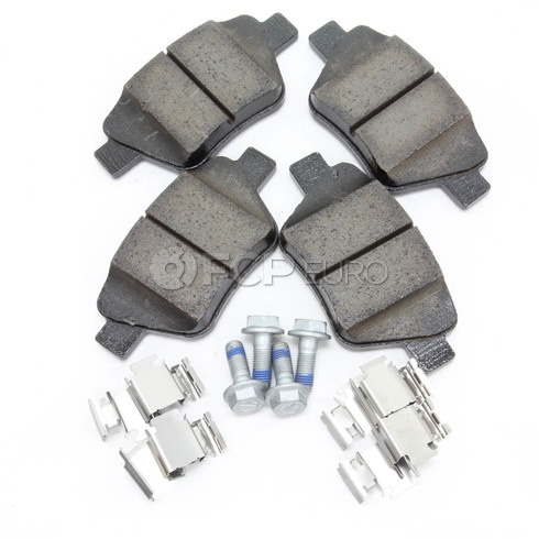 Audi VW Disc Brake Pad Rear - Genuine VW Audi 5K0698451A