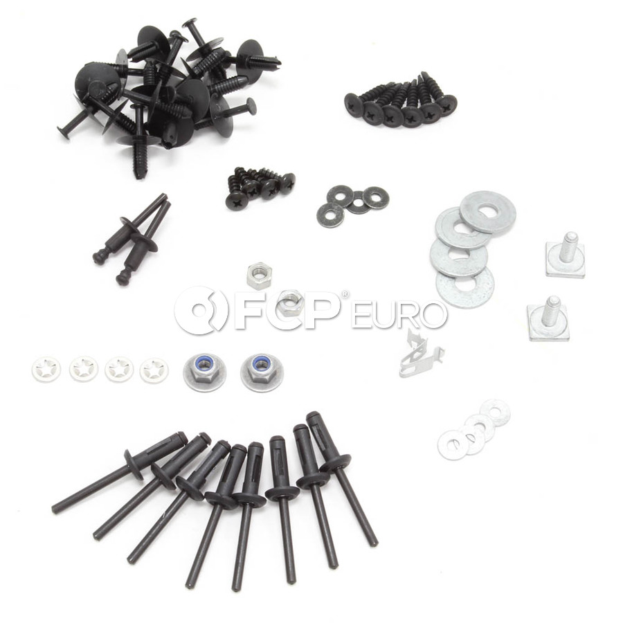 BMW Bumper Cover Mounting Kit Front (E46) - Genuine BMW 51112293995KT